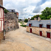 Garenne wash houses (right), town of Vannes, departament de Morbihan, Brittany, France