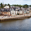 Saint-Goustan port, town of Auray, departement of Morbihan, Brittany, France. Tilted lens used for shallower depth of field