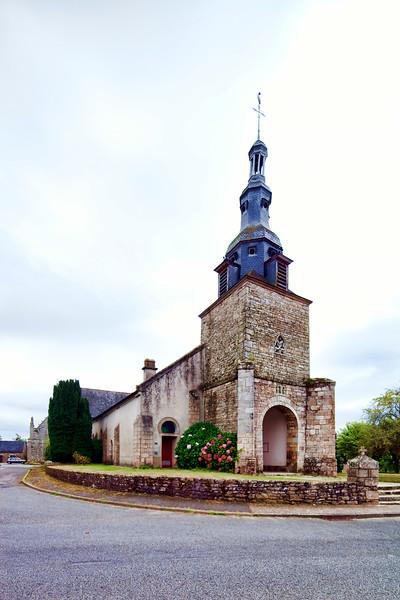 Saint-Thuriau church (12th century), town of Plumergat, departement of Morbihan, Brittany, France