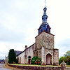 Saint-Thuriau church (12th century), town of Plumergat, departement of Morbihan, Brittany, France
