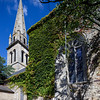 Saint Pierre church, town of Baden, departament of Morbihan, Brittany, France