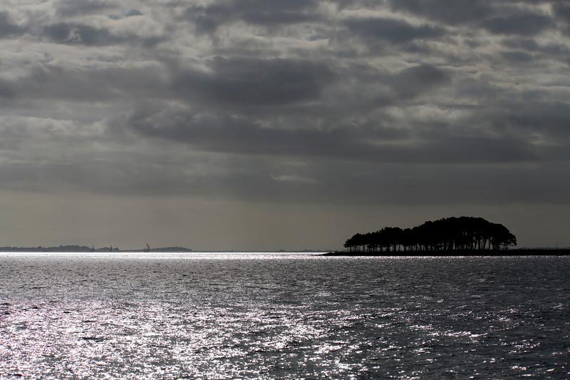 Pointe de Kerpenhir, town of Locmariaquer, departament of Morbihan, Brittany, France