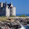 Turpault Mansion, Cote Sauvage, Quiberon, departament de Morbihan, Brittany, France