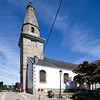 Parish church, town of Erdeven, departament of Morbihan, Brittany, France