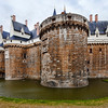 Castle of the Brittany Duke, Nantes, France
