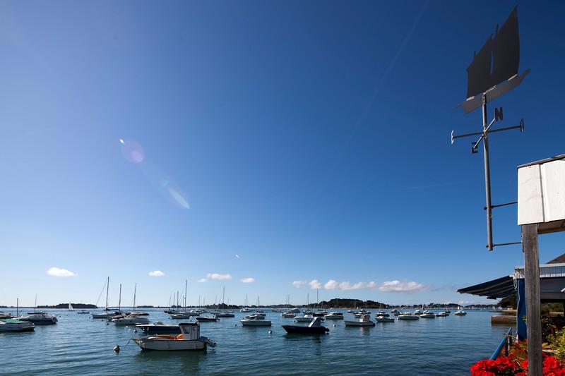 Arradon point, departament of Morbihan, Brittany, France