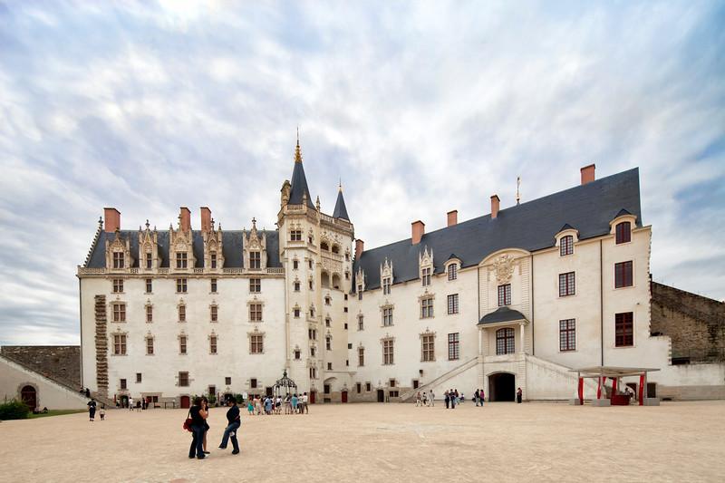 Castle of the Brittany Duke, Nantes, France