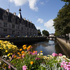 Odet river, town of Quimper, departament of Finistere, region of Brittany, France