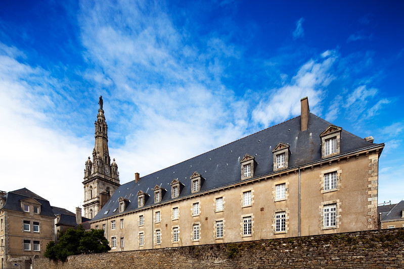 Sanctuary of Sainte Anne d'Auray, town of Sainte Anne d'Auray, departement of Morbihan, Brittany, France
