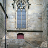 Detail from Saint Pierre Cathedral, town of Vannes, departament de Morbihan, Brittany, France
