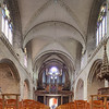 Interior of Saint-Pierre Cathedral, Vannes, department of Morbihan, region of Brittany, France