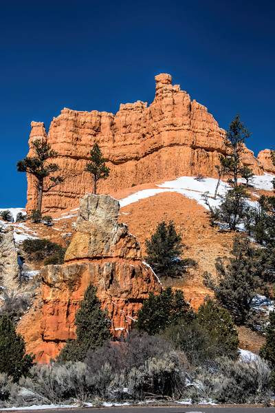 Red Rock Canyon in Winter