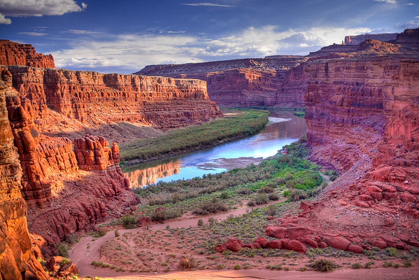 Colorado River at Canyonlands National Park