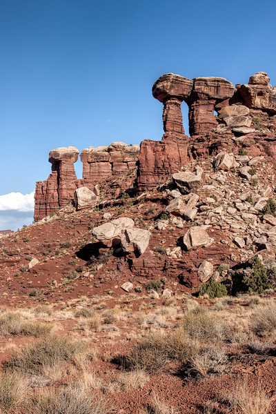 Rock Structures at Canyonlands National Park
