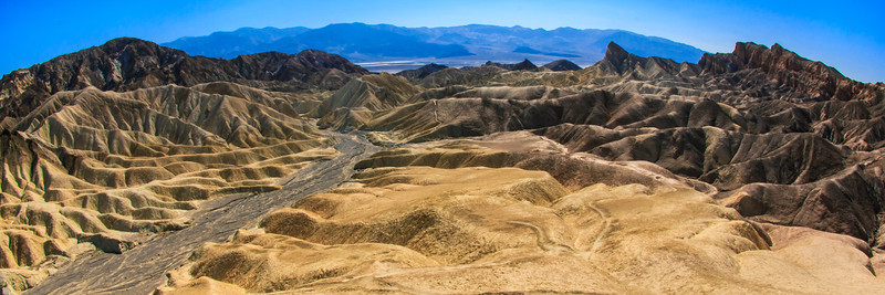 Zabriskie Point at Death Valley