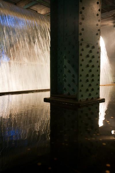 Waterfall, Guinness storehouse, Dublin, Ireland
