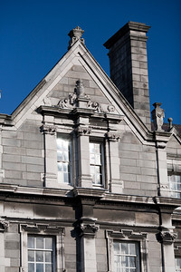 Building, Library Square, Trinity College, Dublin, Ireland