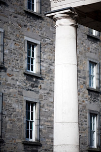 Column, Trinity College, Dublin, Ireland