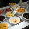 Fruits included in a breakfast buffet, Dublin, Ireland