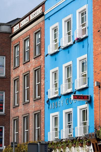 Buildings on Bachelors Walk, Dublin, Ireland