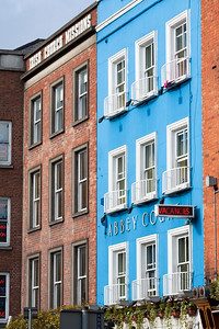 Buildings on Bachelors Walk, Dublin, Ireland