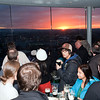 Customers at Gravity Bar, on the top of Guinness storehouse, Dublin, Ireland