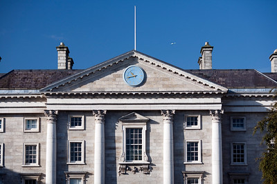 Regent House from Parliament Square, Trinity College, Dublin, Ireland