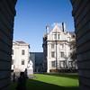 Campanile archway, Parliament Square, Trinity College, Dublin, Ireland