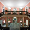 Staircase, the State Apartments, Dublin Castle, Dublin, Ireland