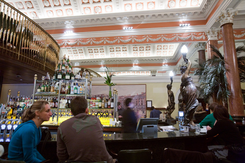 The Bank, Irish pub in a former bank, Dublin, Ireland