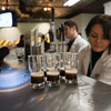 Tasting of beer, Guinness storehouse, Dublin, Ireland