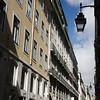 Rua dos Douradores, Baixa, Lisbon, Portugal. Fernando Pessoa's office was located on this street.