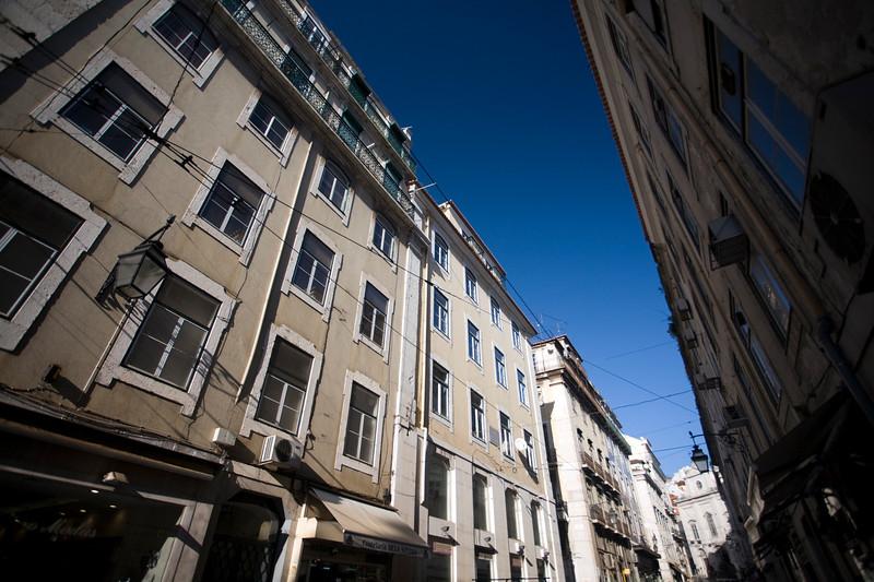 Conceiçao street, Baixa, Lisbon