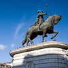 Equestrian statue of the king Dom Joao I, Lisbon