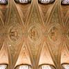 Ceiling of Graça church, Alfama, Lisbon, Portugal
