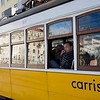 Tram, Figueira square, Lisbon