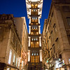Santa Justa Elevator, Lisboa, Portugal