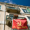 Office of the Portuguese Communist Party in Alfama, Lisbon, Portugal
