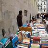 Street market of books, Chiado, Lisbon