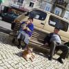 Old couple, Alfama, Lisbon, Portugal