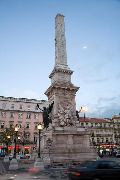 Praça dos Restauradores, Baixa, Lisbon, Portugal