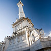 Monument of the king Dom Pedro IV, Rossio, Lisbon.