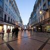 Augusta street at dusk, Lisbon
