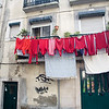 Red laundry, Lisbon