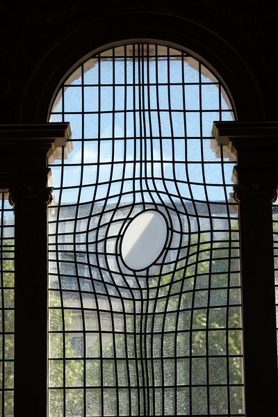 Window of Sain Martin in the Fields church, London, England, United Kingdom