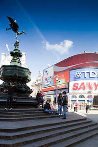 Picadilly Circus, Westminster, London, England, United Kingdom