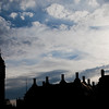 Big Ben silhouette, London, England, United Kingdom