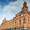 Harrods building on Brompton Road, London, England, United Kingdom