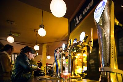 Pub interior, London, England, United Kingdom