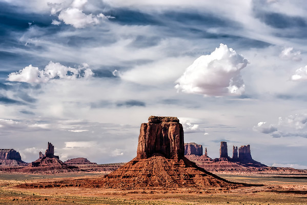 Buttes & Mesas of Monument Valley